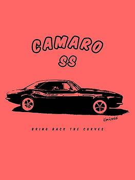 Camaro Ss by Kim Gauge