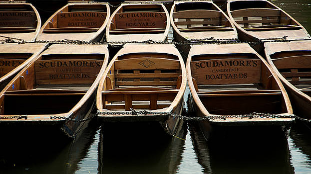 Cambridge Punts by Maurizio Incurvati