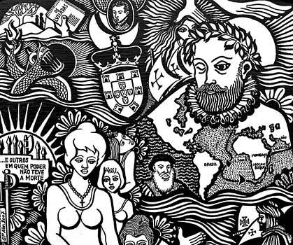 Camoes 1524 - 1580 by Jose Alberto Gomes Pereira