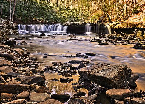 Camp Creek Falls by Lj Lambert
