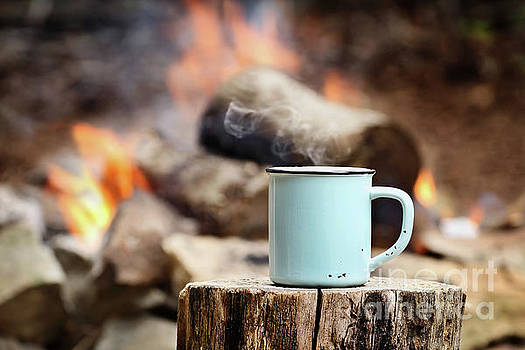 Campfire Coffee by Stephanie Frey