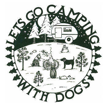 Camping with Dogs by Barbara Esposito
