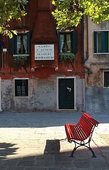 Campo St Agnese Venice by Betsy Moran