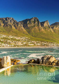 Camps Bay Ocean Pool by Tim Hester