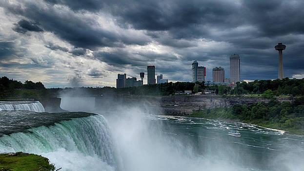 Canadian Skyline by Judy Hall-Folde
