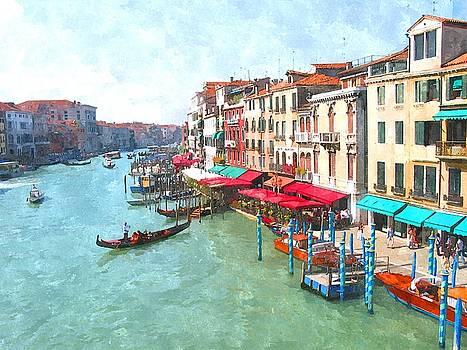 Canal Grande by Irene Beumer-Zanini
