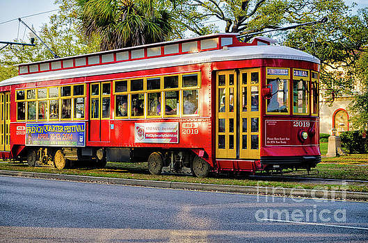 Canal Streetcar 2019-Nola by Kathleen K Parker