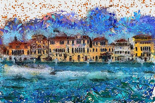 Canals in Venice by Ashish Agarwal