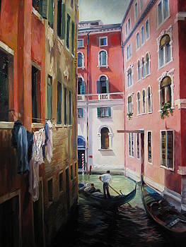 Canals of Venice by Ekaterina Pozdniakova