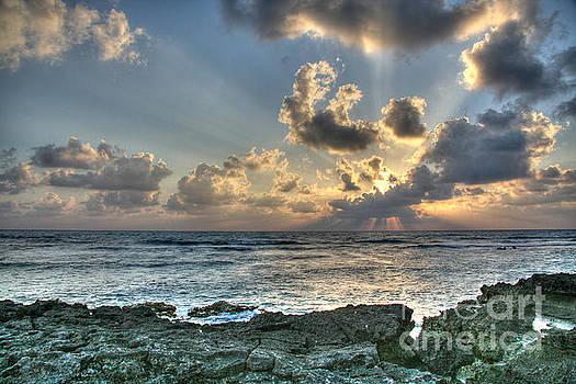 Cancun Sunrise A Morning In Heaven by Wayne Moran