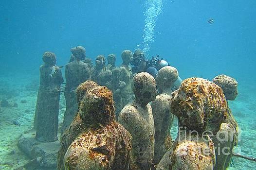 John Malone - Cancun Underwater Museum Four