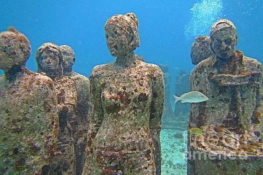 John Malone - Cancun Underwater Museum Three