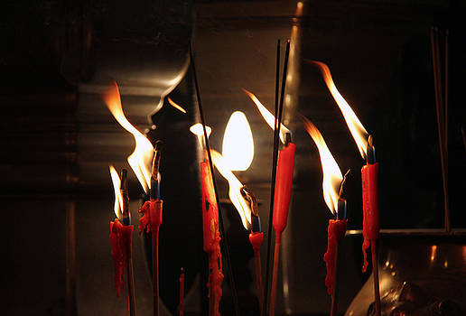 Candles in the wind by James  Wasdell