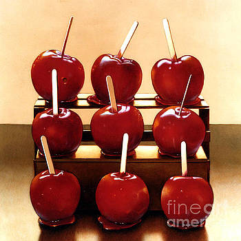 Candy Apples by Larry Preston