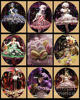 Candy Christmas Cameo Collection by Nina Silver
