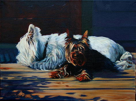 Canine American-A by Patricia Reed
