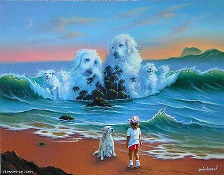Canine Companions by Jim Warren