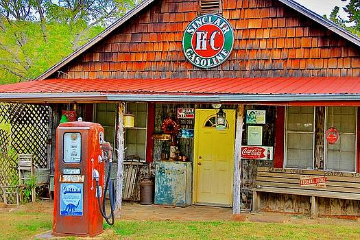 Cannon Creek General Store by Carolyn Wright