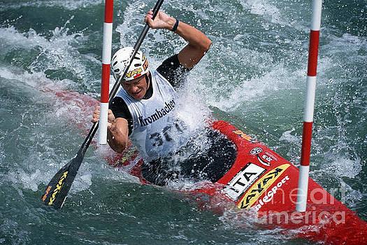 Canoe Slalom 1 by Rudi Prott