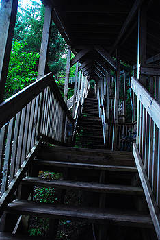 Canted Stairs by Preston Zeller