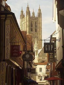 Canterbury Cathedral England by Inga Menn