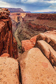 Canyon Monsoon  by James Marvin Phelps