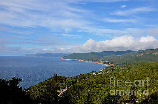 Cape Breton Highlands .. by Elaine Manley