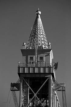 David Gordon - Cape Cod Canal RR Bridge Tower BW