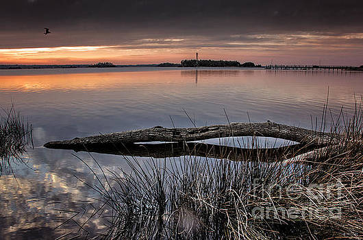 Cape Fear Sunset Serenity by Phil Mancuso