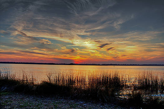 Cape Fear Sunset Return by Phil Mancuso