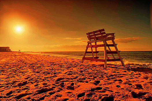 Cape May sunset  by Geraldine Scull
