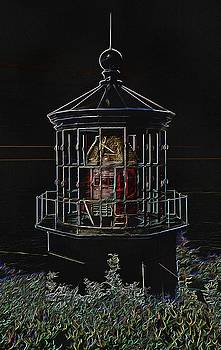 Thom Zehrfeld - Cape Meares Neon Lighthouse