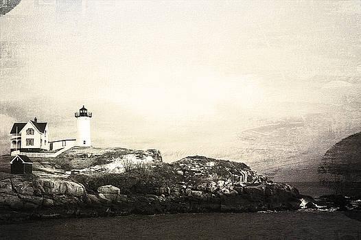 Cape Neddick Light House by Sue OConnor