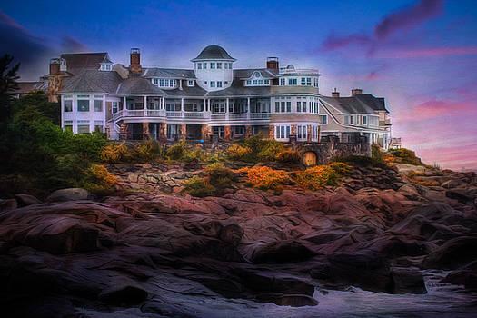Cape Neddick Maine Scenic Vista by Shelley Neff