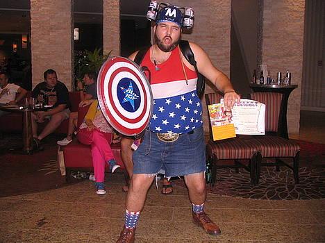Captain America Graduates by Jim Williams