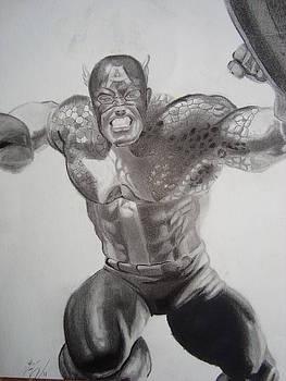 Captain America by Luis Carlos A