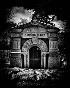 Captain Fluke Mausoleum Mount Pleasant Cemetery Toronto Canada by Brian Carson