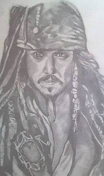 Captain Jack Sparrow by Pauline Murphy