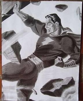 Captain Marvel by Luis Carlos A