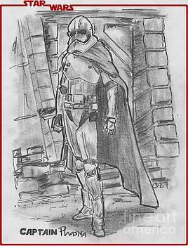 Captain Phasma by Chris  DelVecchio