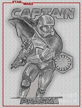 Captain Phasma of the First Order by Chris DelVecchio