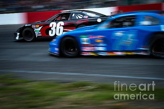 Car 36 in the lead by Wayne Wilton