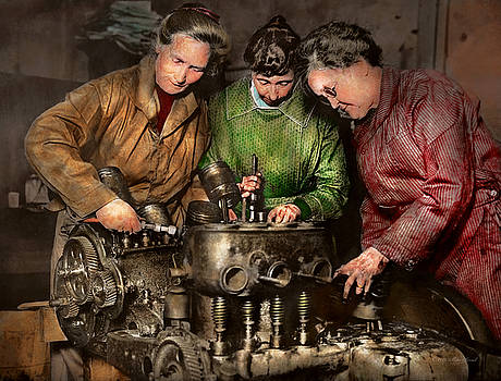 Mike Savad - Car Mechanic - In a mothers care 1900