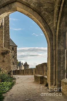 Carcassonne City Walls by Ann Garrett