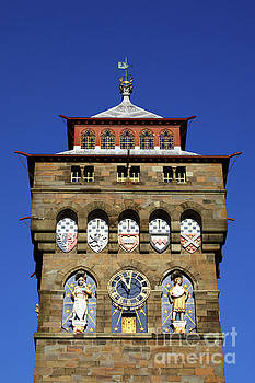 James Brunker - Cardiff Castle Clock Tower