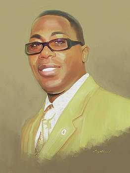 Carey Muhammad Self Portrait by Carey Muhammad