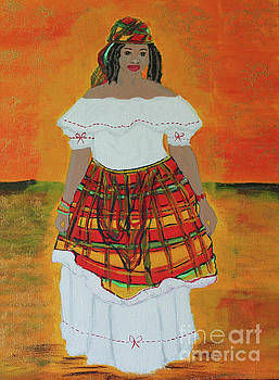 Caribbean Woman by Kate Farrant