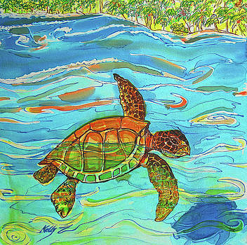 Caribbean Sea Turtle  by Kelly     ZumBerge