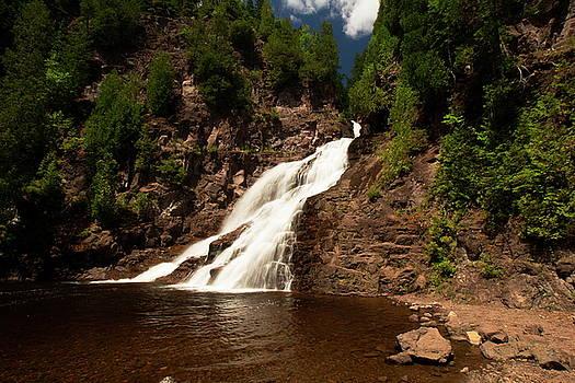 Caribou Falls III by Amanda Kiplinger