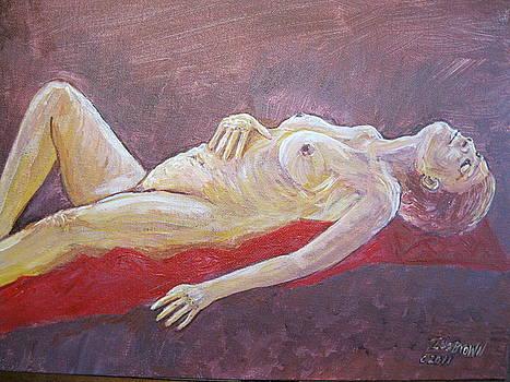 Carla Resting by Ida Brown